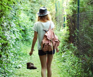 girl, photography, and green image