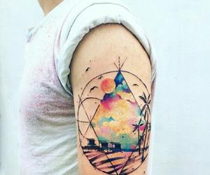 men, tatuagens, and tattos image