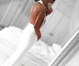 dress, white, and white dress image