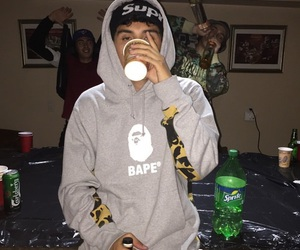 boy, drink, and party image