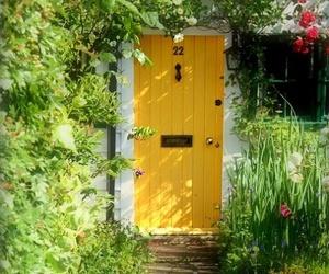 door and yellow image