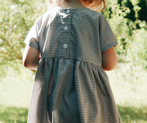 checkered dress, child, and etsy image