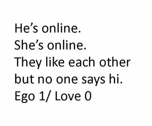 ego, love, and quote image