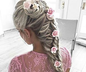 love and hairstyle image