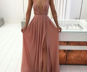 dress, fashion, and nightgown image