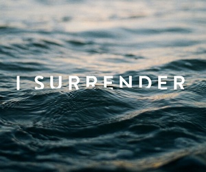 god, jesus, and surrender image