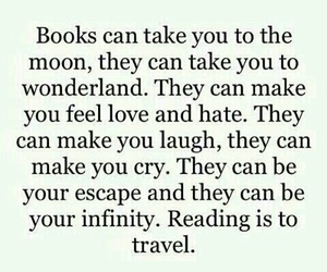 book, travel, and quote image