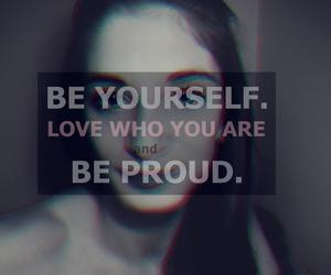 love, proud, and be image