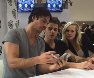 comic con, ian somerhalder, and paul wesley image