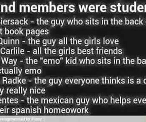 band members, bvb, and om&m image