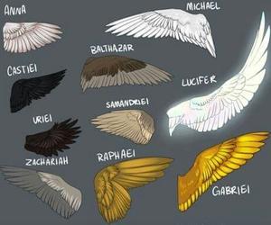 supernatural, angel, and lucifer image