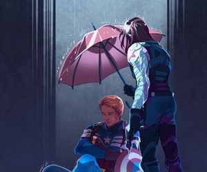 couple, Marvel, and steve rogers image
