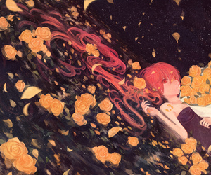 flowers, vocaloid, and gabaisuito-n image