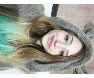 blonde, eye liner, and smile image