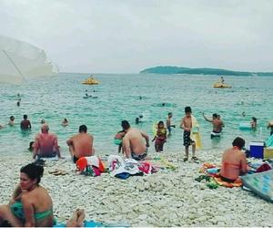 beach, Croatia, and summer image