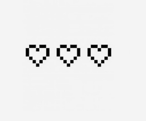 heart and pixel image