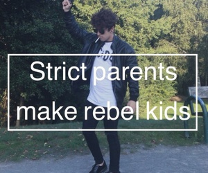 grunge, quote, and rebel image