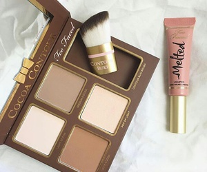 makeup, beauty, and too faced image