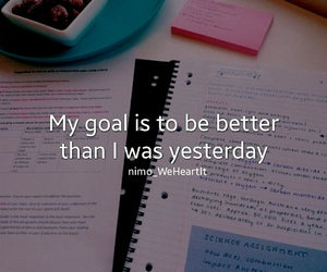 goal and study image