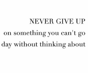 quote and nevergiveup image