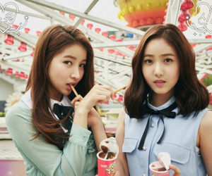 gfriend, sowon, and sinb image