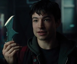 justice league, the flash, and ezra miller image