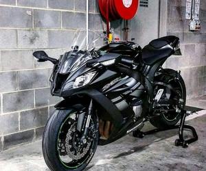 badass, bike, and kawasaki image