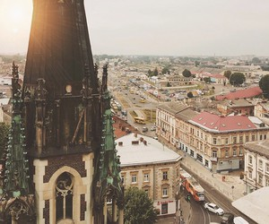 city, lviv, and travel image