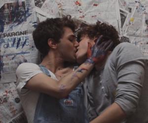 love, gay, and kiss image