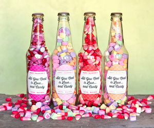 sweet, bottle, and candy image