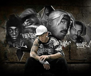 eminem, tupac, and big l image
