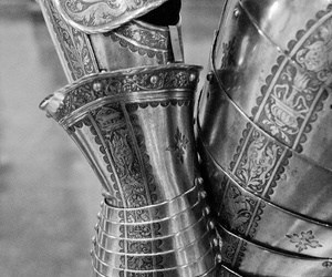 armour, knight, and silver image