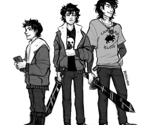 percy jackson, nico di angelo, and son of hades image