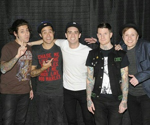 brendon urie, FOB, and pete wentz image