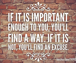 do it, excuse, and frase image