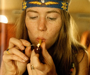 hippie and weed image