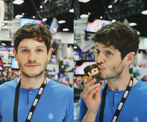 comic con, game of thrones, and iwan rheon image