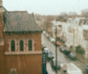 rain, city, and indie image