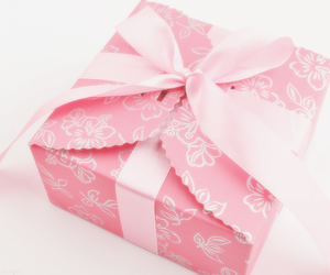 pink, cute, and box image