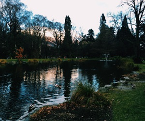 sunset, travels, and queenstown image
