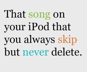song, ipod, and music image
