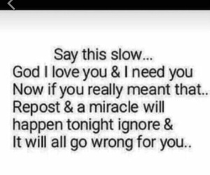 god, miracle, and repost image
