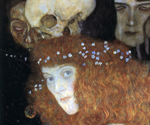1903, Gustav Klimt, and little flowers image