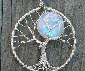 tree, necklace, and moon image