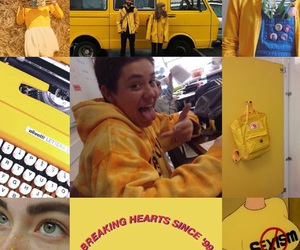 yellow, shameless, and carl gallagher image