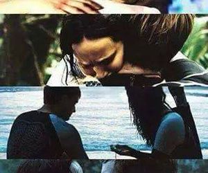 catching fire, Jennifer Lawrence, and katniss everdeen image
