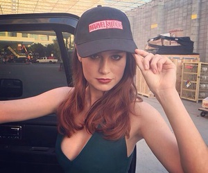 brie larson, captain marvel, and Marvel image