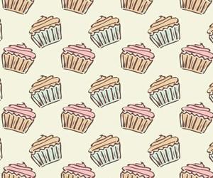 cupcake, food, and wallpaper image