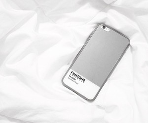 iphone, white, and pantone image