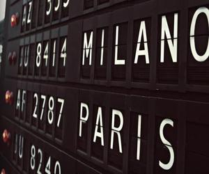 paris, milano, and photography image
